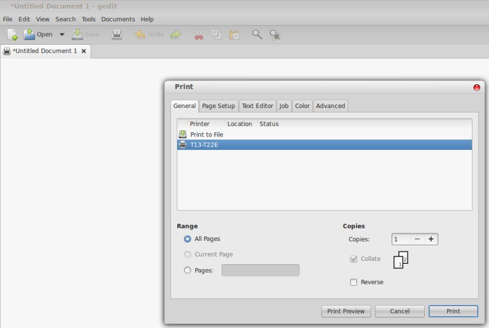 Printer Epson Stylus T13 ubuntu 13.10 8
