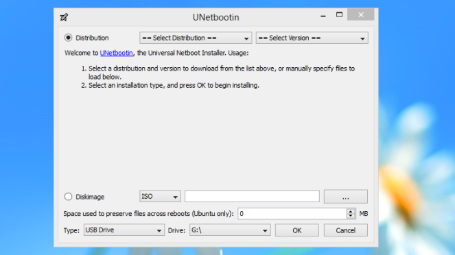UNetbootin Cara membuat bootable Linux di Windows