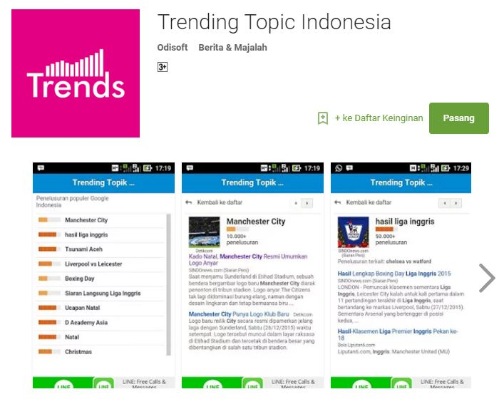 Trending Topic Indonesia
