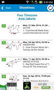 jadwal motogp 2016 hasil 2